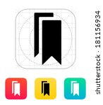 bookmarks icon.
