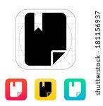 file bookmark icon.