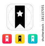 bookmark with star icon.