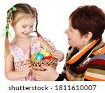 Little Girl And Her Grandmothe...