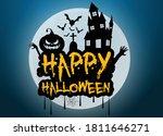 Halloween 2020 Greeting Vector...
