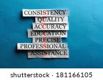 success acronym in business... | Shutterstock . vector #181166105