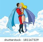 super kiss   Shutterstock . vector #181167329