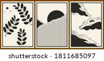 set of three abstract...   Shutterstock .eps vector #1811685097