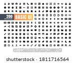 24x24 pixel perfect basic user... | Shutterstock .eps vector #1811716564