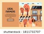 Template Vector Website Of Farm ...