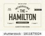 """the hamilton"". octagonal...   Shutterstock .eps vector #1811875024"
