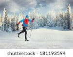 The Cross Country Skier In...