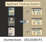 resumes transform with ats ... | Shutterstock .eps vector #1812038191