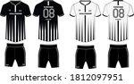 sports t shirt jersey design...   Shutterstock .eps vector #1812097951