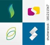 letter s | Shutterstock .eps vector #181211567