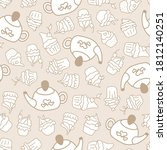 Seamless Pattern With Candy For ...