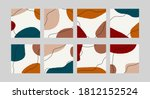 abstract social media banners.... | Shutterstock .eps vector #1812152524