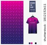 fabric textile design. pink... | Shutterstock .eps vector #1812152611