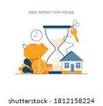 money savings concept  invest...   Shutterstock .eps vector #1812158224