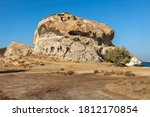 Petra Rock With Ancient...