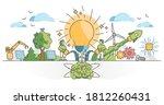 innovation as creative idea... | Shutterstock .eps vector #1812260431