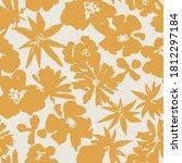 floral seamless pattern.... | Shutterstock .eps vector #1812297184
