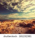 prairie  landscapes | Shutterstock . vector #181232381