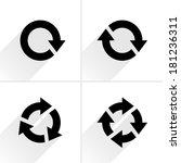 4 black arrow reload  rotation  ...