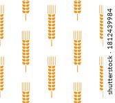 Seamless Wheat Ear Pattern....