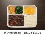 bean stew brazilian food rice... | Shutterstock . vector #1812511171