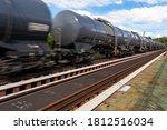 Blurry Photo Of Railroad Tank...