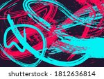 abstract art wallpaper  cover....   Shutterstock .eps vector #1812636814
