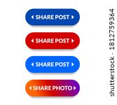simple creative share button set