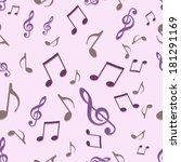 vector seamless pattern of... | Shutterstock .eps vector #181291169