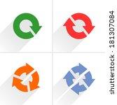 4 color arrow refresh  reload ...