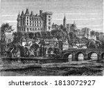 Pau Castle Where Henri Iv Was...