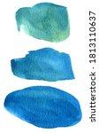 abstract watercolor texture ... | Shutterstock .eps vector #1813110637