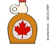 america,bottle,breakfast,brown,canada,candy,cartoon,culture,dessert,drawing,drink,eat,food,glass,golden