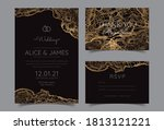 invitation to the wedding  a... | Shutterstock .eps vector #1813121221