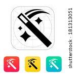move magic wand icon. | Shutterstock . vector #181313051