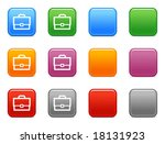 color buttons with bag icon | Shutterstock .eps vector #18131923