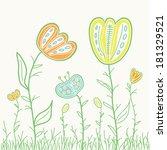 vector illustration of hand...   Shutterstock .eps vector #181329521