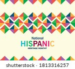colored pattern background...   Shutterstock .eps vector #1813316257