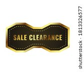 sale clearance banner sale....   Shutterstock .eps vector #1813326577