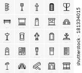 city infrastructure | Shutterstock .eps vector #181334015