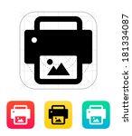 photo print icon.