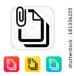 attached files icon.