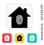 fingerprint hone secure icon.