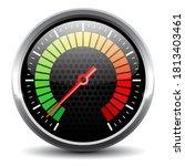 Speed Meter Device Vector...