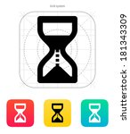 hourglass is ticking icon.