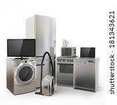 consumer electronics tv fridge...