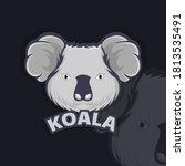 koala animal icon logo.... | Shutterstock .eps vector #1813535491