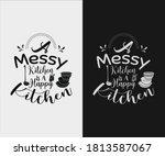 kitchen vintage design. a... | Shutterstock .eps vector #1813587067