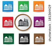 building buttons vector | Shutterstock .eps vector #181364429